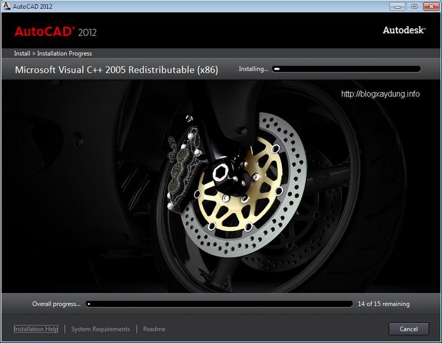 AutoCAD 2012 Setup Step 6