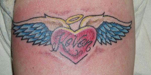 Wing tattoos