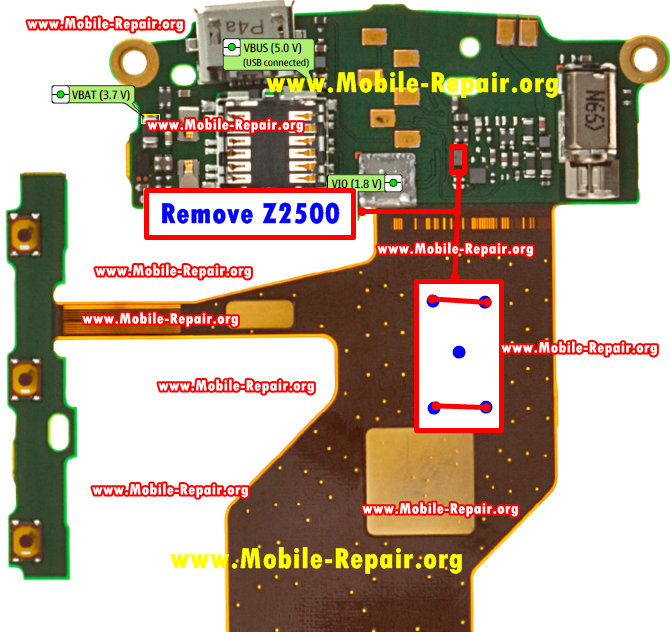 Nokia C3-01 Handsfree Problem Repair solution