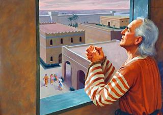 Daniel Praying - Daniel 9