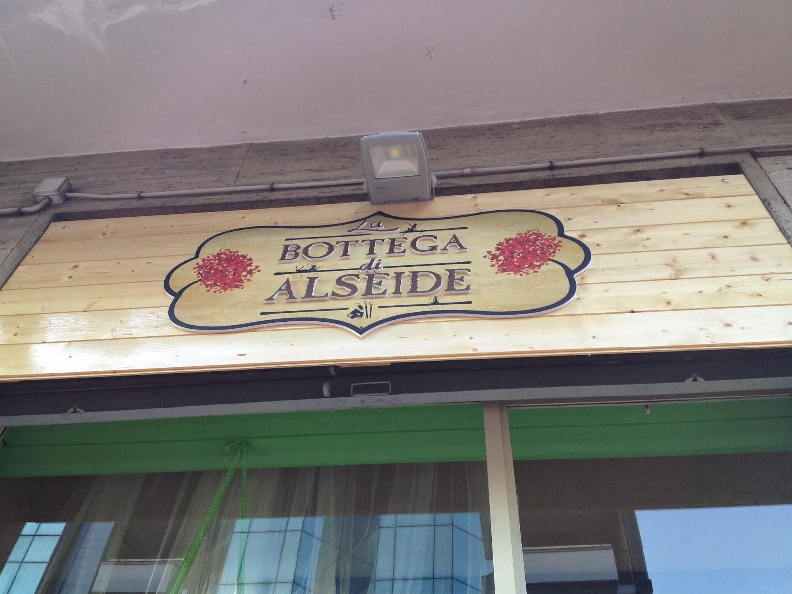 Vi porto con me: La Bottega di Alseide