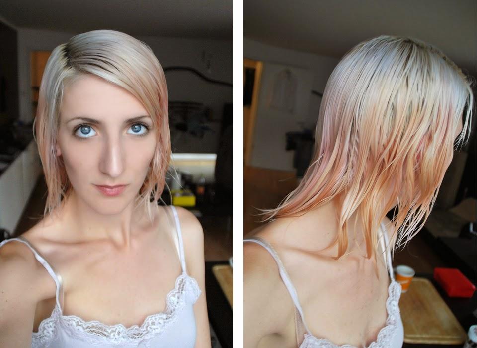 Silber farbe haare  Aus Rosa mach Silber | Die Sabrina