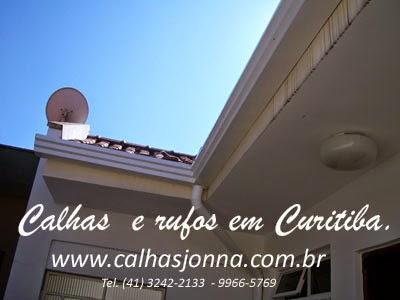 Calhas e rufos em Curitiba, calhas para telhados