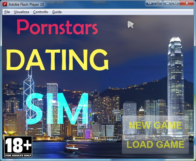 pornstar dating sim