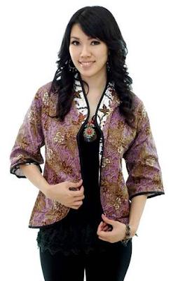 Model Bolero Batik Terbaru 2016 yang Terlihat Istimewa