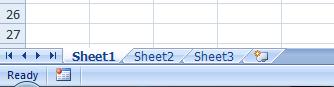 microsoft excel mengatur sheet