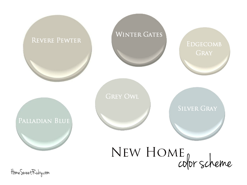 Paint Color Schemes With Grey The Perfect Paint Schemes for House