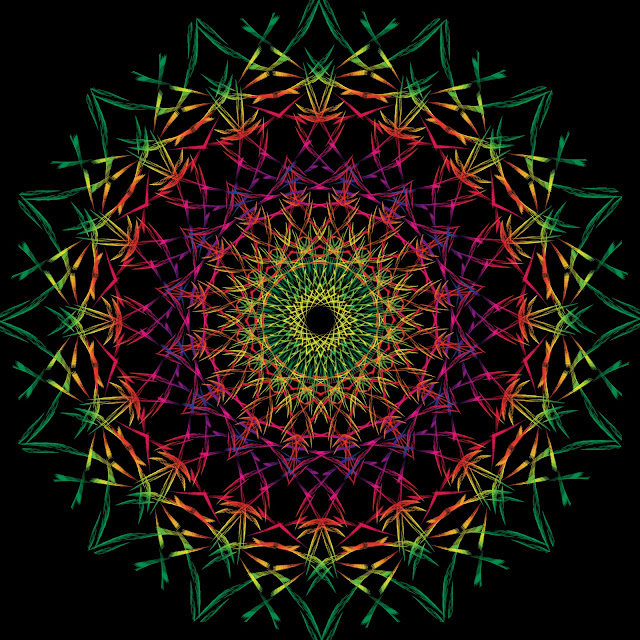 Mandalas efectos opticos, efectos visuales, fractales, fractals, Imagenes Efecto Visual, mandalas, optical effects. visual effects, stock Visual Effect,