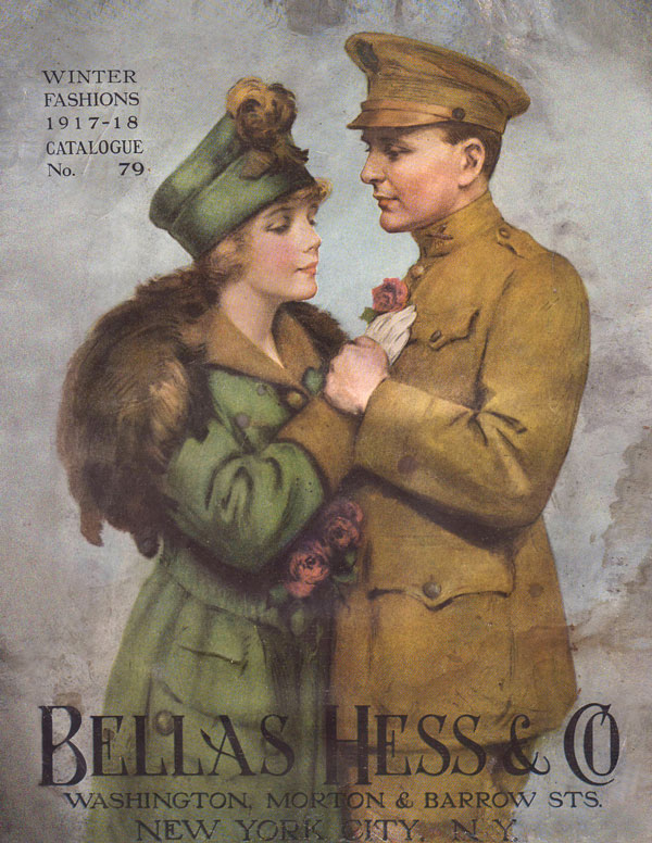 Bellas Hess 1917 Fashion Catalog Kindle Book