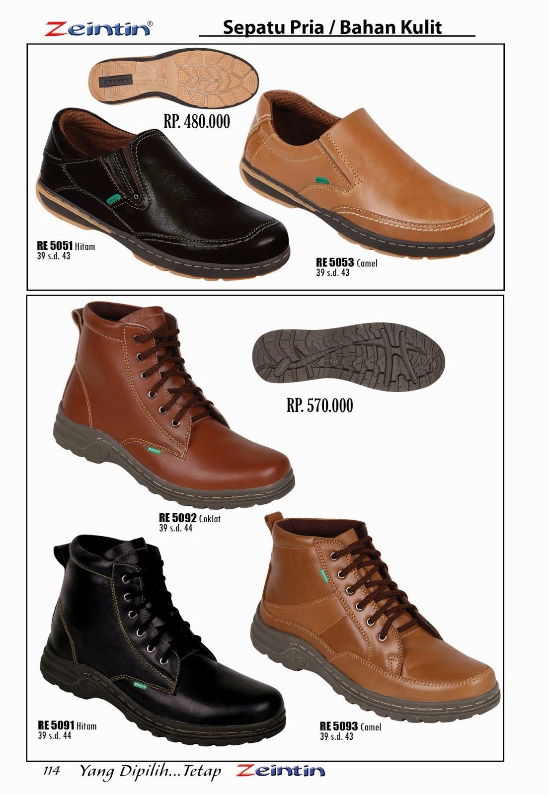 Sepatu Kulit Zeintin