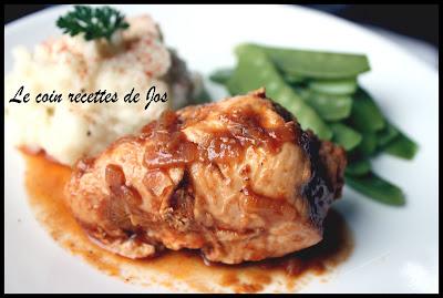 Le coin recettes de jos poulet au coca cola - Cuisiner poulet entier ...