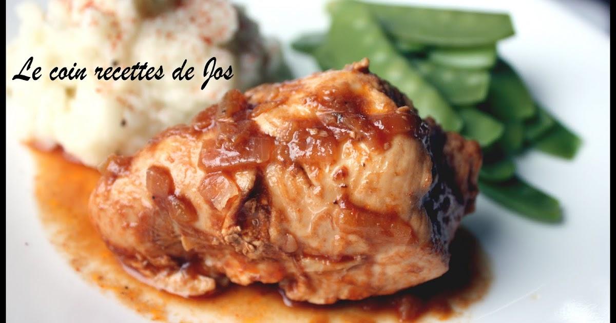 Le coin recettes de jos poulet au coca cola - Cuisiner un poulet entier ...
