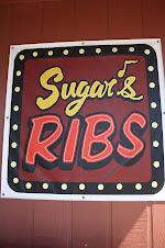 Adventure Woman Loves Sugar's Ribs