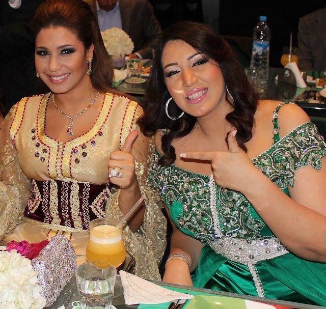 Caftan de luxe haute couture Marocaine : Houda Saad & Asmae Lamnawar
