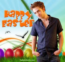 Celebrity Easter with Robert Pattinson!