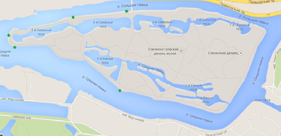 места рыбалки петербург