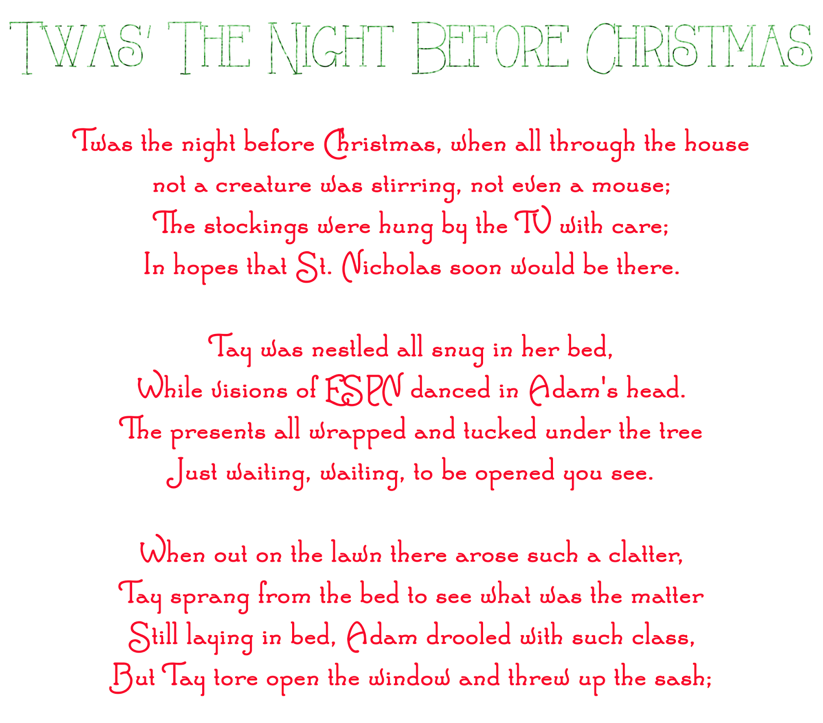twas the night before christmas blogmas14 day 24