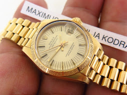 ROLEX OYSTER PERPETUAL LADY DATEJUST ALL GOLD 18k - ROLEX 6900