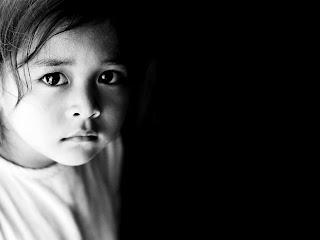 poetry, poem, afraid, scare, frightened, kids, children, girl