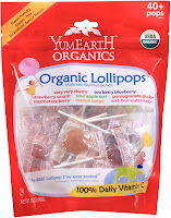 yumearth organic candy lollipops