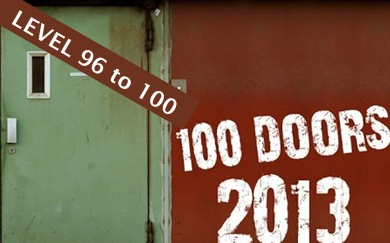 Game 100 Doors 2013 Level 96 97 98 99 100 Solution