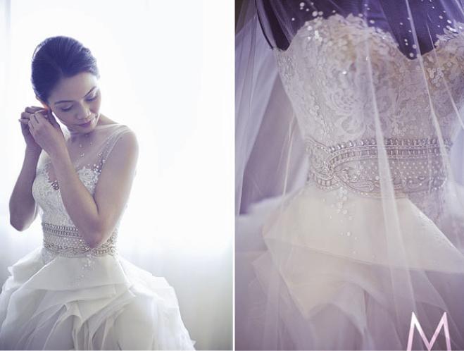 Dress of the Week + Bridal Style Inspiration - Veluz Reyes - Belle ...