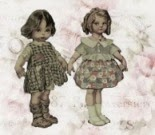 Dresses for dolls. Maria Dirce