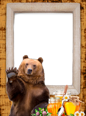 borde foto oso