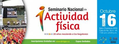 1er Seminario Nacional de Actividad Física