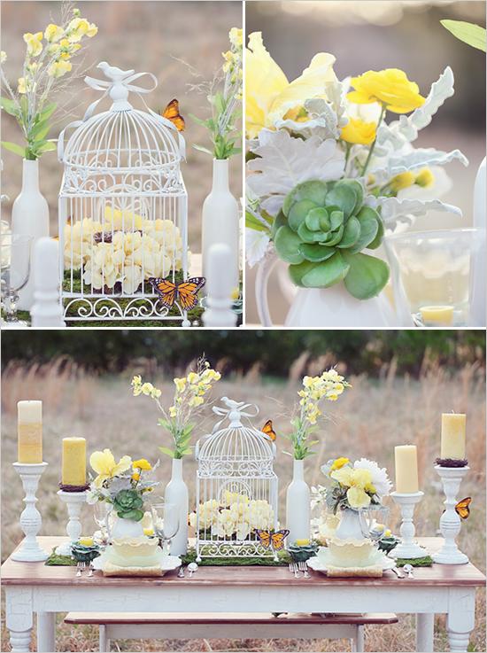 Matrimonio Country Chic Kitchen : Love birds wedding decorations living room interior designs