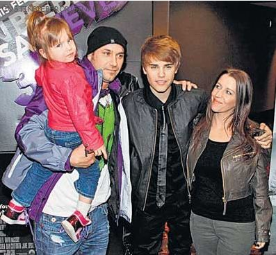 Justin Bieber Family on Infostar Celebrity  Justin Bieber Shares Family Photos Of Sister Jazzy