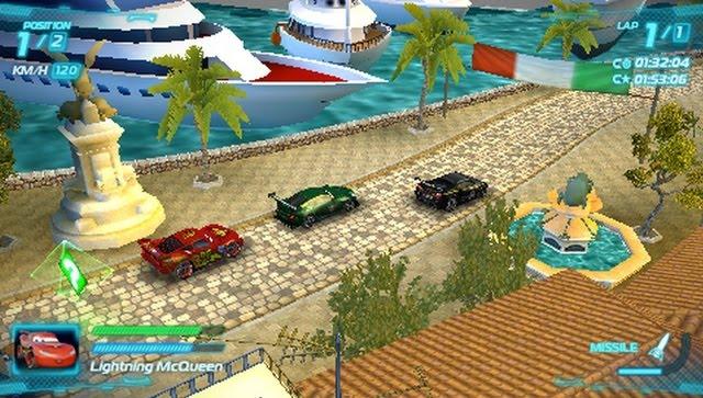 cars 2 il videogioco giochi psp. Black Bedroom Furniture Sets. Home Design Ideas