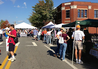 cornbread festival, South Main Street, Little Rock, foodie