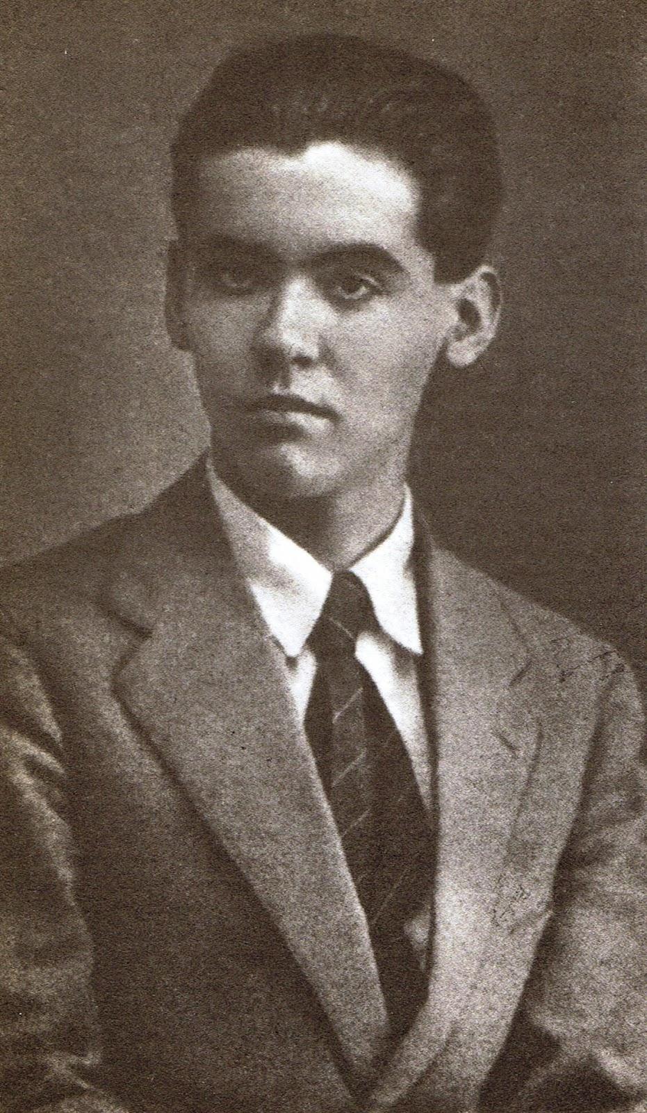 Lorca con 12 años