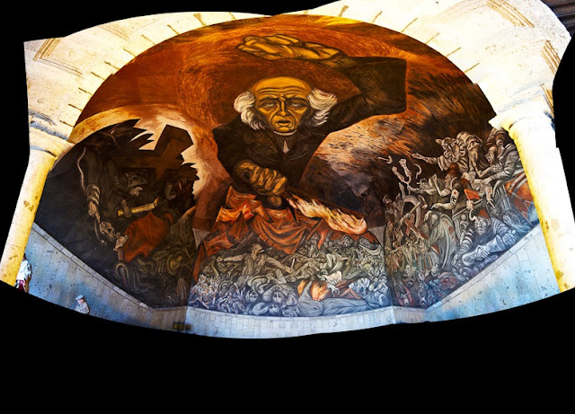 Artes pl sticas y arquitectura en am rica latina siglo for El mural guadalajara