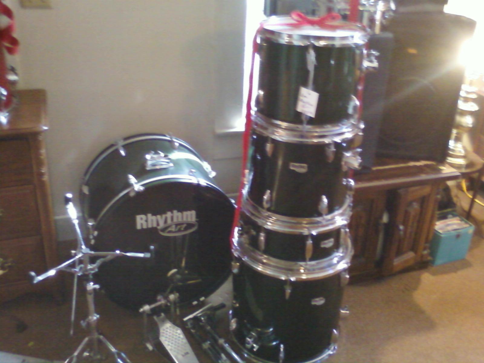 The Drum Line Rhythm Art Drum Kit
