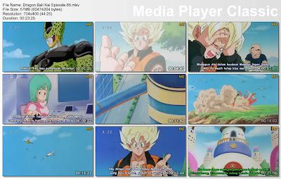 """Download Film / Anime Dragon Ball Kai Episode 85 """"Terganggunya Waktu Istirahat! Pasukan Militer Menyerang Cell"""" Bahasa Indonesia"""