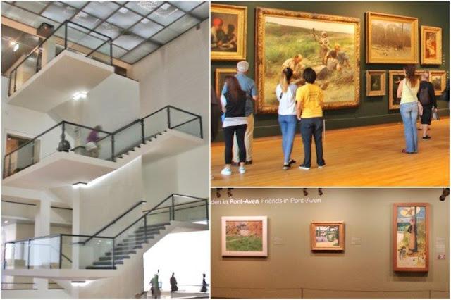 Interior del Museo Van Gogh en Amsterdam