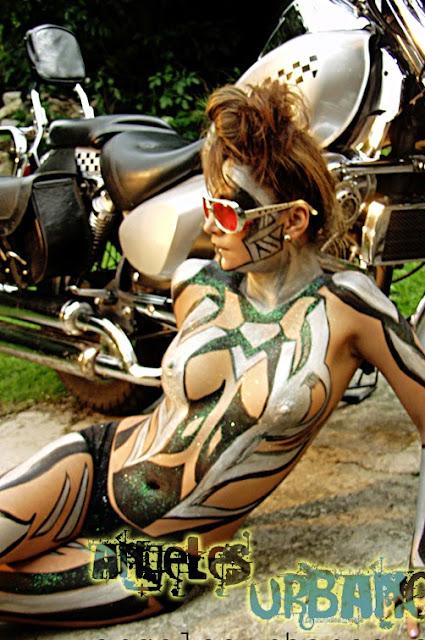 body paint bogota