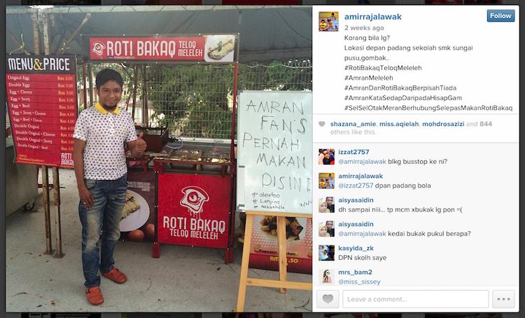 Amir Raja Lawak Mahu Fokus Niaga Roti Bakar Untuk Belanja Perkahwinan Bulan Depan