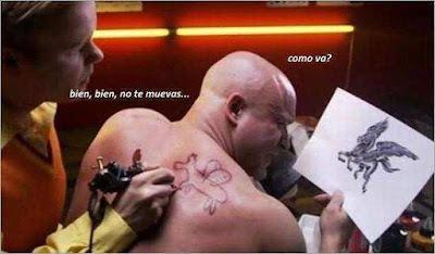 Humor tatuajes