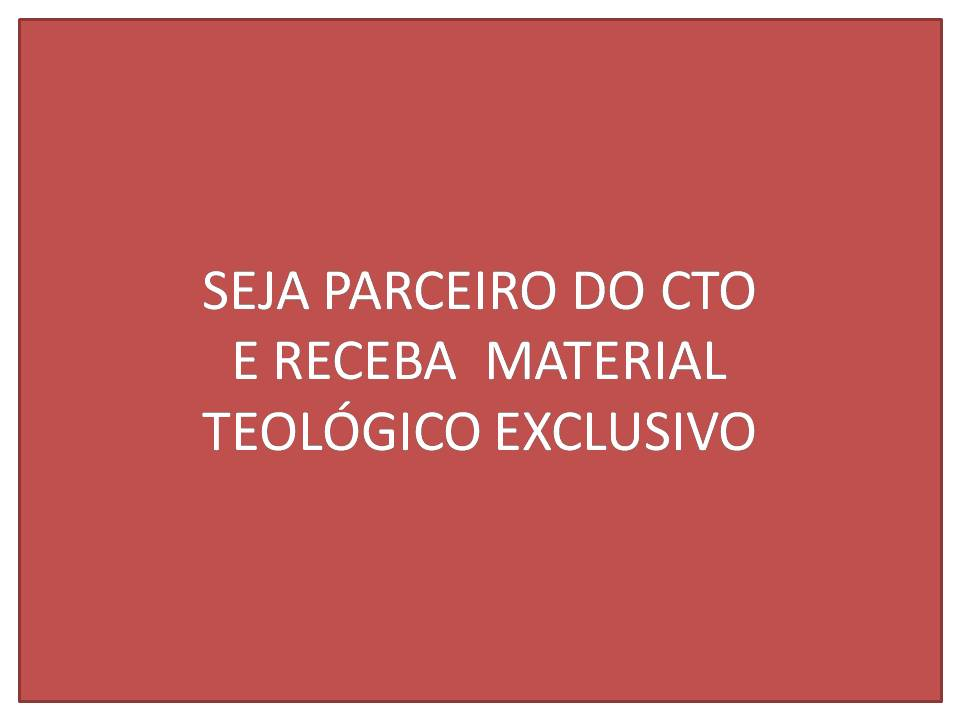 CTO - CURSO GRATUITO DE TEOLOGIA ONLINE