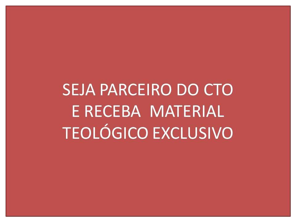 CTO - CURSO GRATUITO DE TEOLOGIA ONLINE