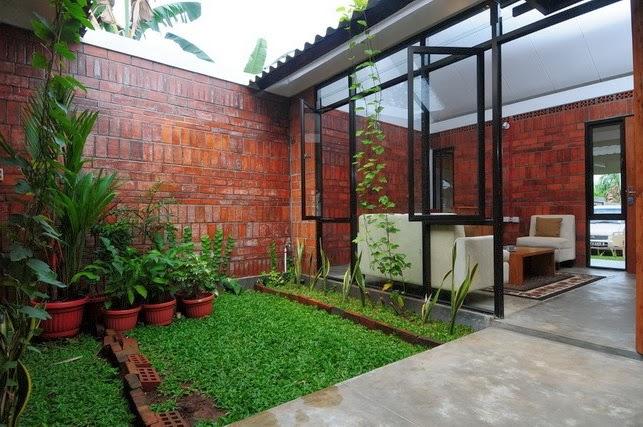 Desain Mini Garden Indoor : Desain Taman Mungil Dalam Rumah Minimalis , semoga bermanfaat