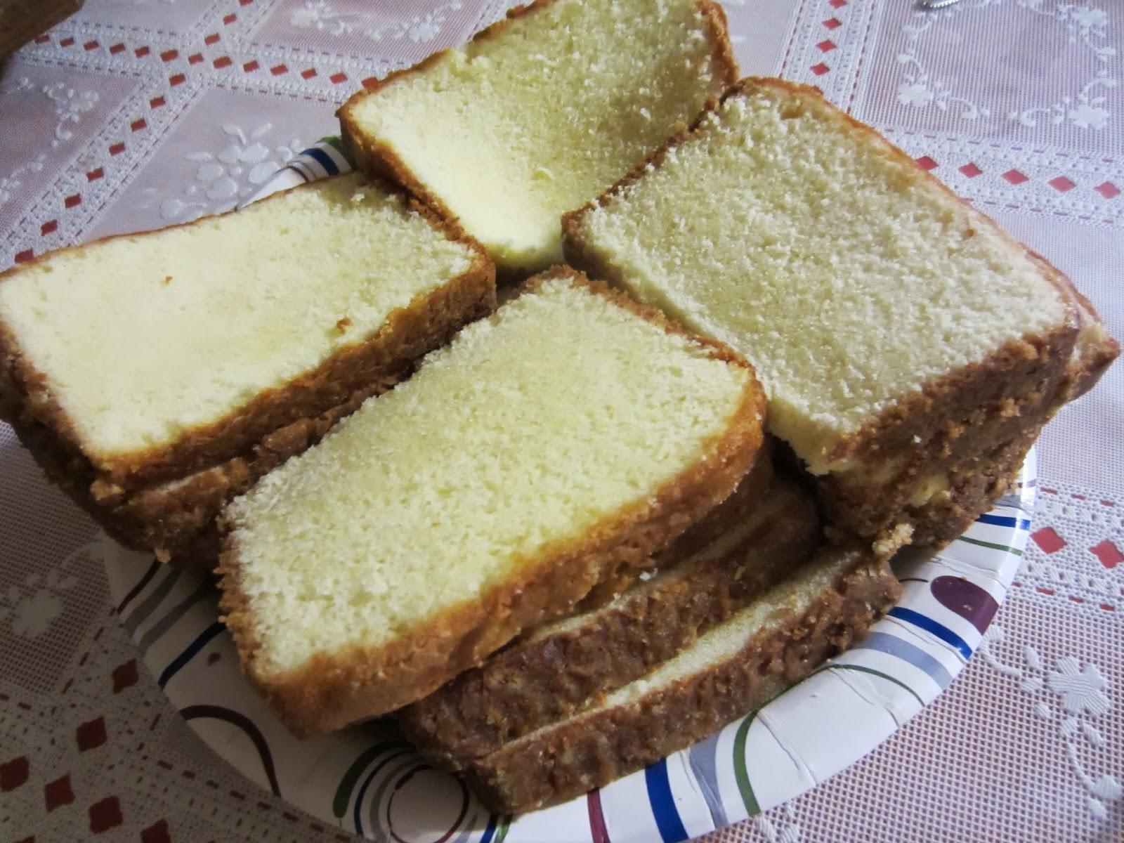Blue Bonnet Margarine Pound Cake