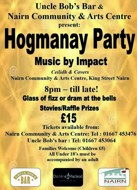 Hogmany at the Community and Arts Centre