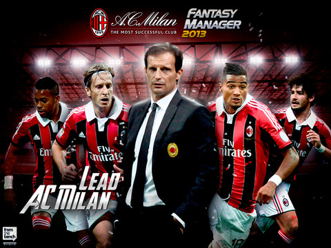 ini wallpaper baru Ac Milan Vs Barcelona 2013