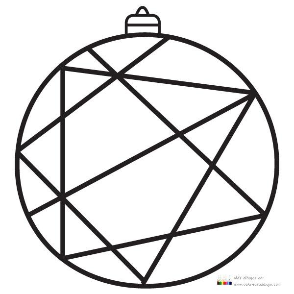 COLOREA TUS DIBUJOS: Bola de Navidad con diferentes formas para ...