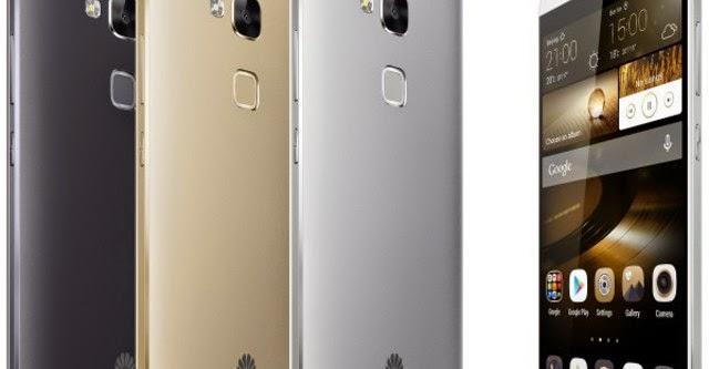 Huawei trình làng Ascend Mate7 với cảm biến vân tay