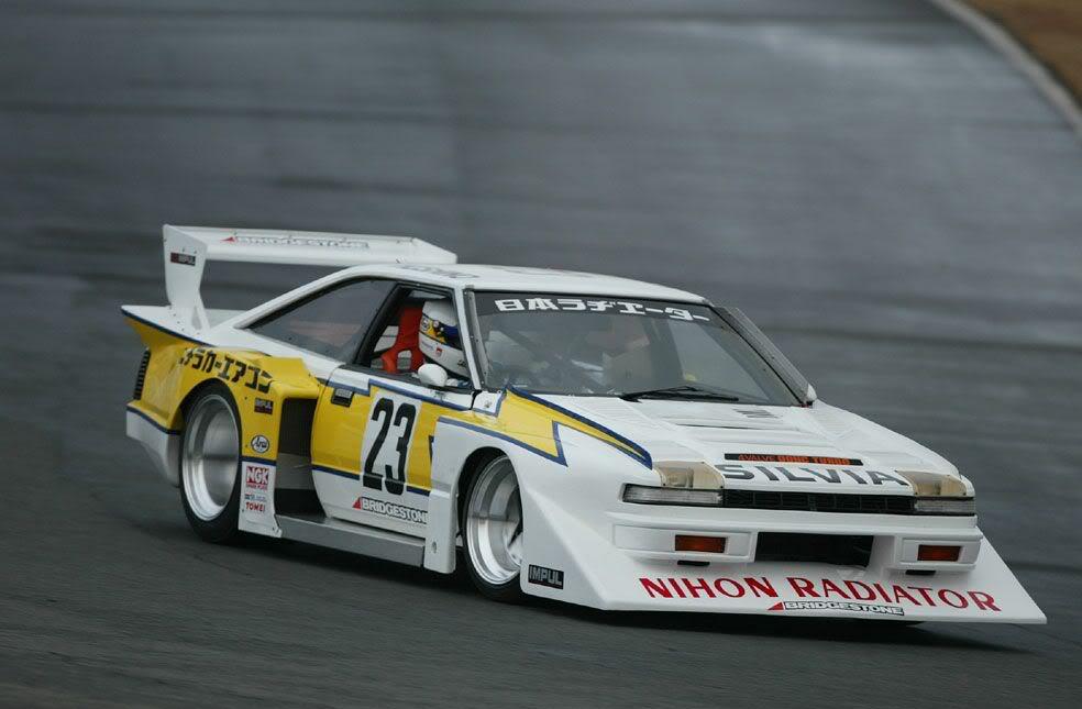 Nissan Silvia Gazelle 200SX S12 tuning zdjęcia photos fotos bilder stary japoński sportowy samochód rwd czwarta generacja 4th gen japońska motoryzacja 日本車, チューニングカー, スポーツカー, 日産, シルビア, ガゼール, super silhouette, racing, wyścigi